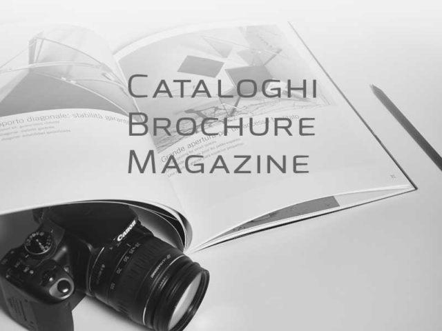 Cataloghi, Brochure, Magazine
