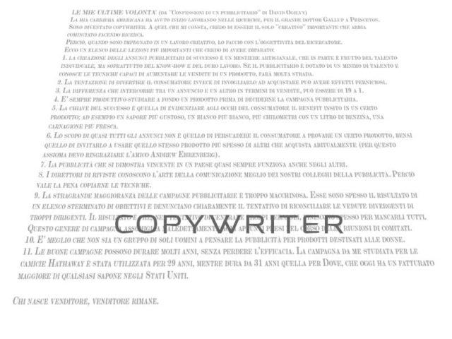 il copywriter